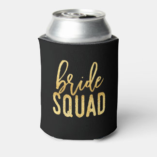 Bride Squad Drink Coozie