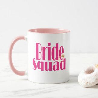 bride-squad-gold mug