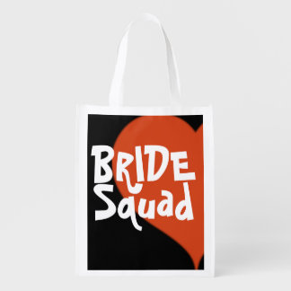 Bride Squad Hipster Heart