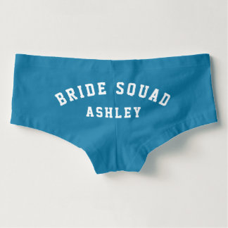 Bride Squad | Personalized Bridesmaid Hot Shorts