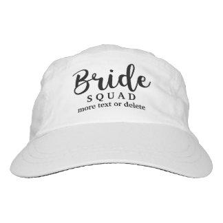 Bride Squad, Team Bride, Chic Modern Wedding Party Hat