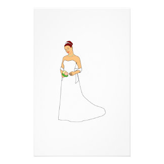 Bride Stationery Paper