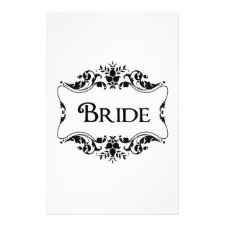 Bride Stationery Design