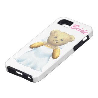Bride Teddy Bear iPhone 5 Cover