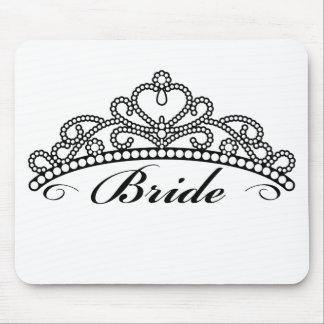 Bride Tiara Mousepad