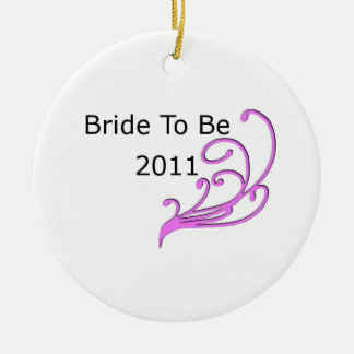 Bride To Be 2011 Christmas Tree Ornaments