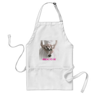 BRIDE TO BE ADULT APRON