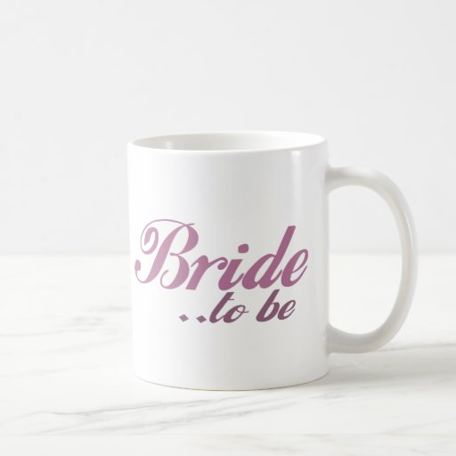 Bride to be basic white mug