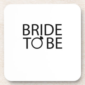 Bride to be Bridesmaid bride bachelorette party Coaster
