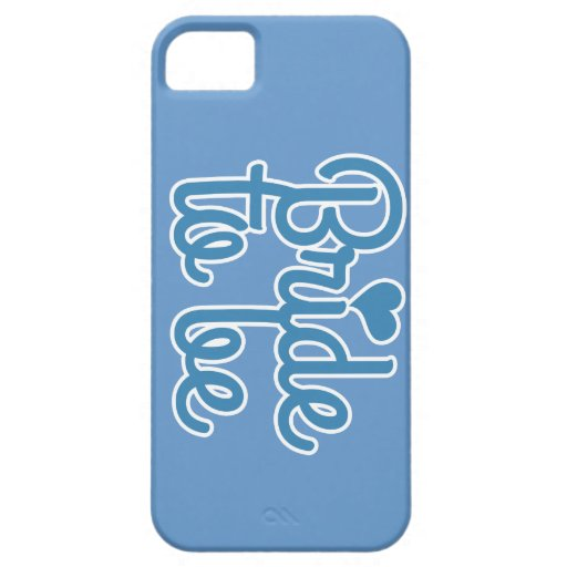 Bride to be iPhone 5/5S case