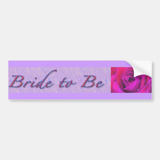 Bride-to-Be Design Bumper Stickers