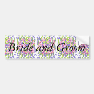Bride-to-Be Design by Carole Tomlinson Bumper Stickers