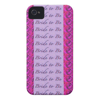 Bride-to-Be Design iPhone 4 Cases