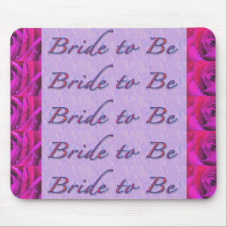 Bride-to-Be Design Mousepad
