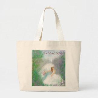Bride to Be Gift Tote Jumbo Tote Bag