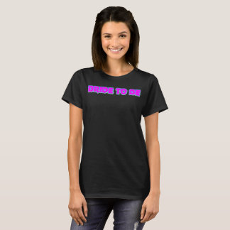 Bride To Be Hot Pink T-Shirt