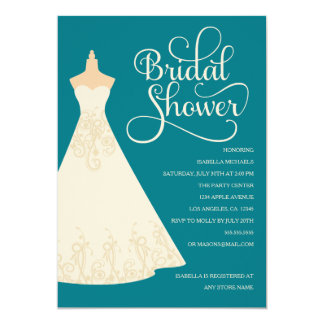 Bride To Be - Light Skin | Choose Background Color 13 Cm X 18 Cm Invitation Card