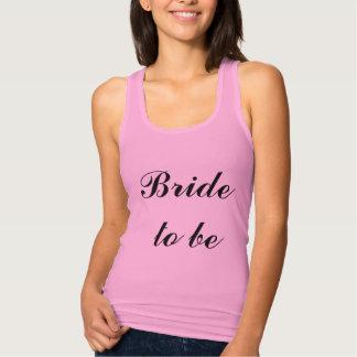 Bride To Be Lilac Purple Weddings Trendy Simple Singlet