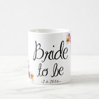 Bride to be Ornate Coffee Mug