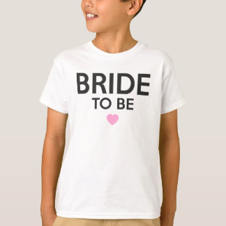 Bride To Be Print T-Shirt