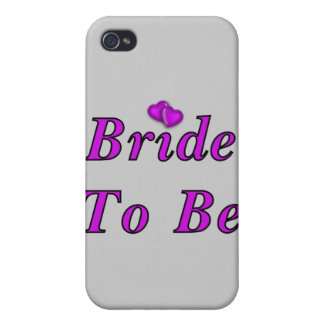 Bride To Be Simply Love iPhone 4 Covers