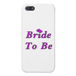 Bride To Be Simply Love iPhone 5 Cases