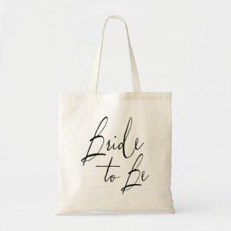 Bride to Be Wedding Tote Bag