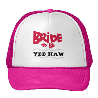 Bride to Be YeeHaw T-shirts and Gifts Mesh Hat