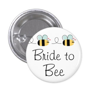 Bride to bee cute bridal button