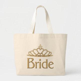 Bride totebag jumbo tote bag