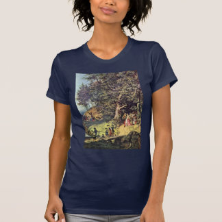 Bride Train In Spring By Richter Ludwig Tshirts