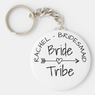 Bride Tribe bachelorette party favour keychains