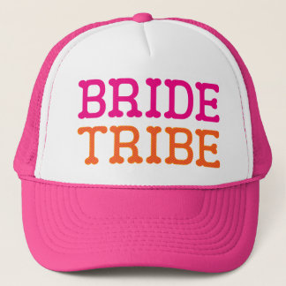 Bride Tribe Bachelorette Party Trucker Hat