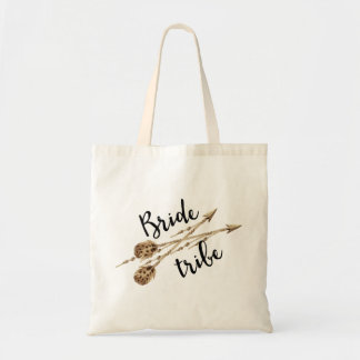 Bride Tribe Boho Arrows Tote Bag