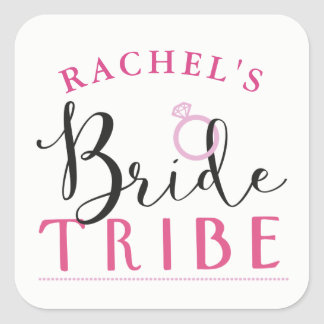 Bride Tribe Bridal Shower Stickers Bachelorette