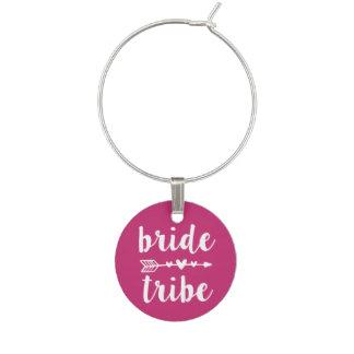Bride Tribe Bridesmaid Wine Charm