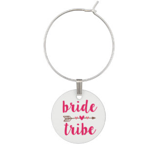 Bride Tribe Bridesmaid Wine Charm