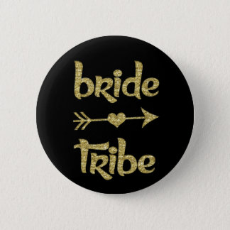 Bride Tribe Bridesmaid women's 6 Cm Round Badge