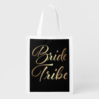 Bride Tribe Bridesmaid women's bag Gold