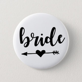 Bride Tribe Button for Bride