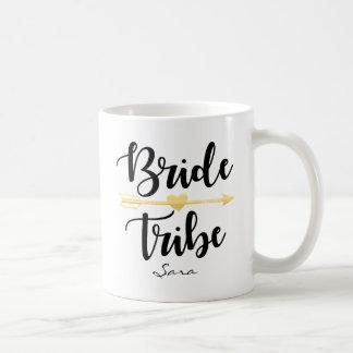 Bride Tribe Gold Wedding Custom-2 Coffee Mug