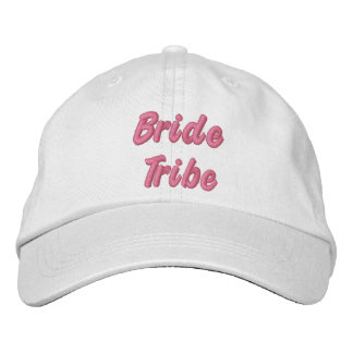 Bride Tribe Hat Embroidered Hat