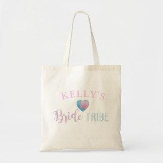 Bride Tribe Pink Heart Tote Bag Gift Bridal Shower