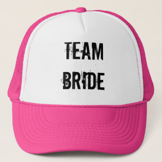 BRIDE TRIBE TRUCKER HAT PINK