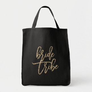 BRIDE TRIBE wedding day tote bag for bridesmaids
