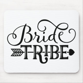 Bride Tribe Wedding Party Mouse Pad