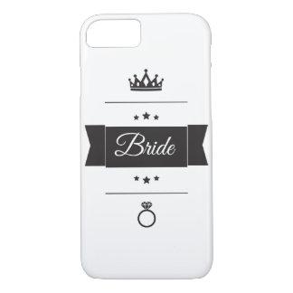 Bride typography design iPhone 7 case