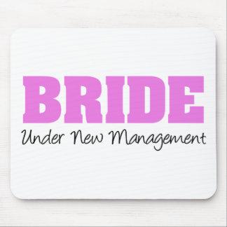 Bride Under New Management Mouse Pads