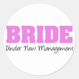 Bride Under New Management Stickers