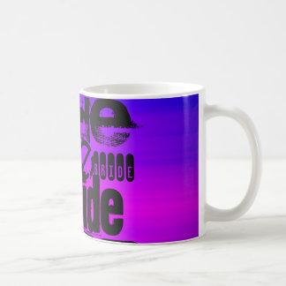 Bride; Vibrant Violet Blue and Magenta Classic White Coffee Mug